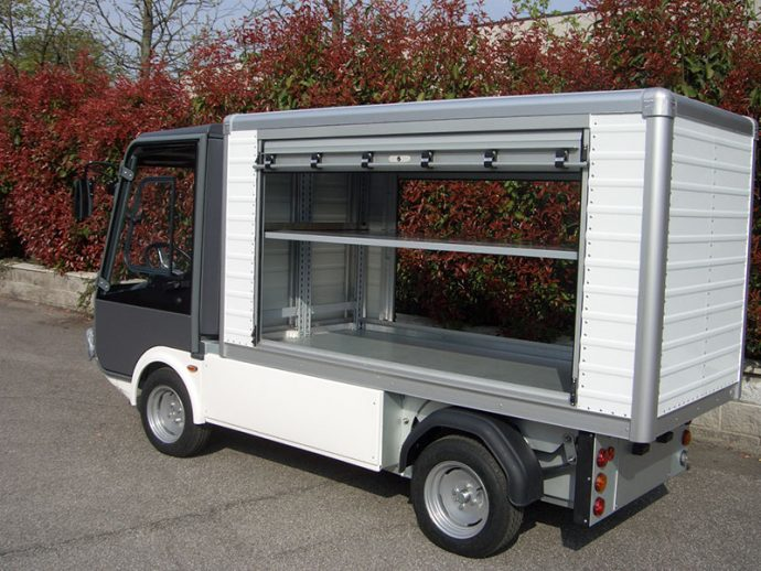 Gastone pick-up elettrico con serranda - Esagono Energia