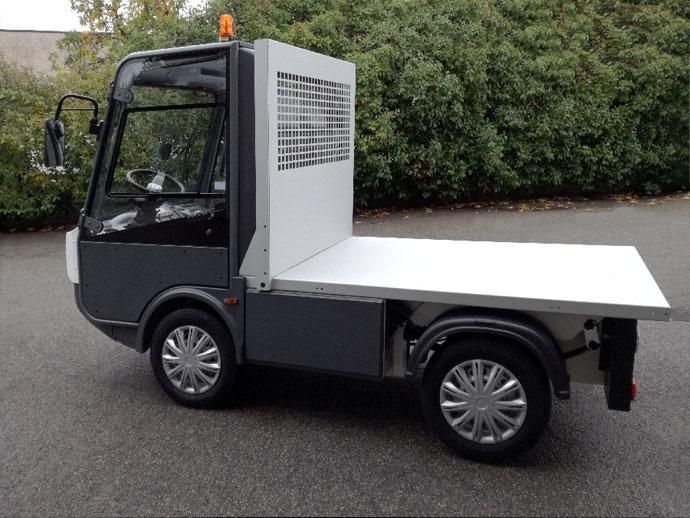Pick-up elettrico Gastone con pianale corto - Esagono Energia