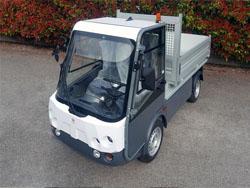 Pick-up elettrico Gastone con cassone ribaltabile- Esagono Energia