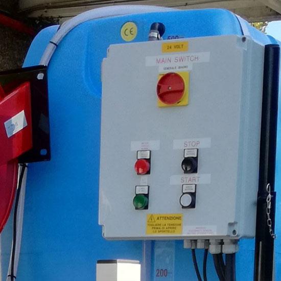 Gastone furgone elettrico per irrigazione - Esagono Energia