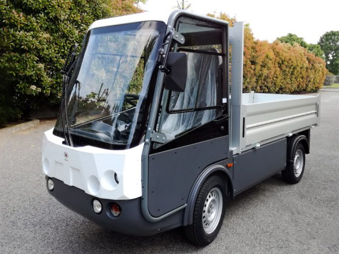 pick-up elettrico Gastone con Sponde - Esagono Energia