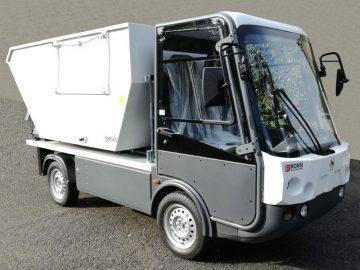 Gastone furgone elettrico voltabidoni - Esagono Energia