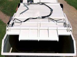 Furgone elettrico con vasca RSU e costipatore - Esagono Energia