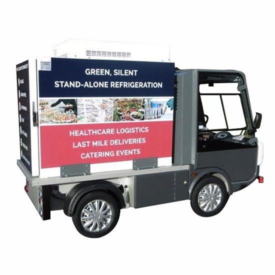 Gastone furgone elettrico isotermico - Esagono Energia