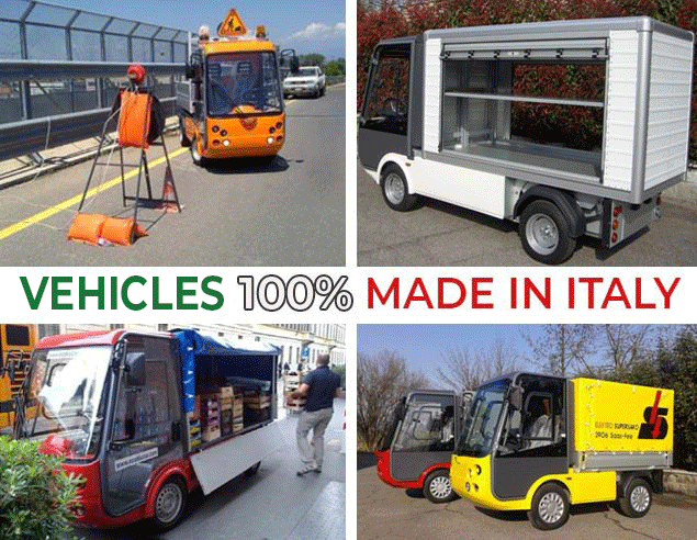 Electric Vehicles 100% Made in Italy