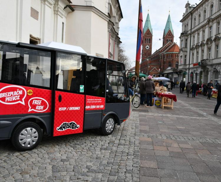 Municipality of Maribor - Maister mini electric vehicle